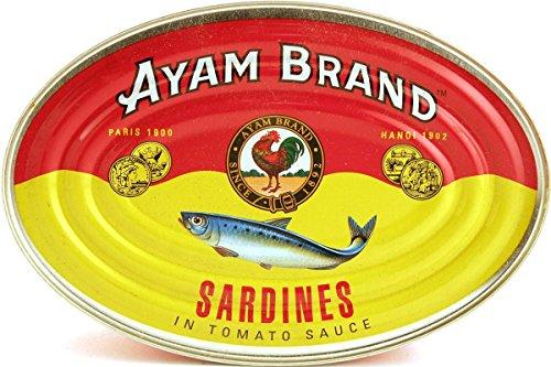 AYAM Sardines in Tomato Sauce 15 OZ