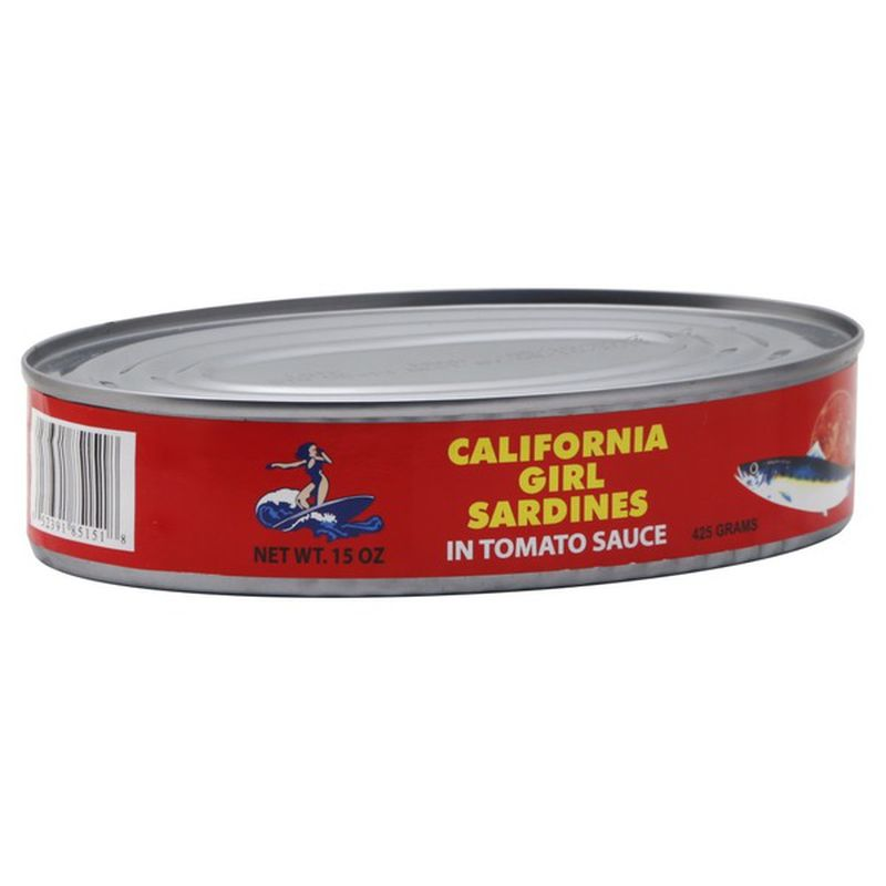 medium california girl sardines in tomato sauce 15 oz wFsqI2NbZf