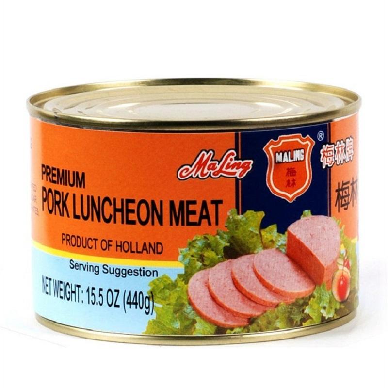 MALING Premium Pork Luncheon Meat 15.5 Oz