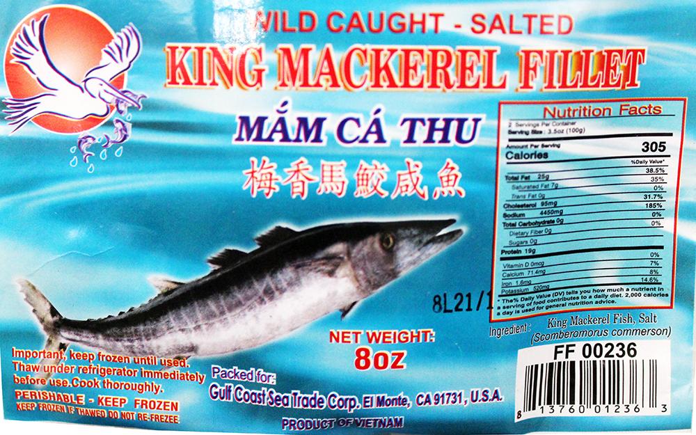 medium swan king mackerel fillet mam ca thu 8 oz ced7F3Dd