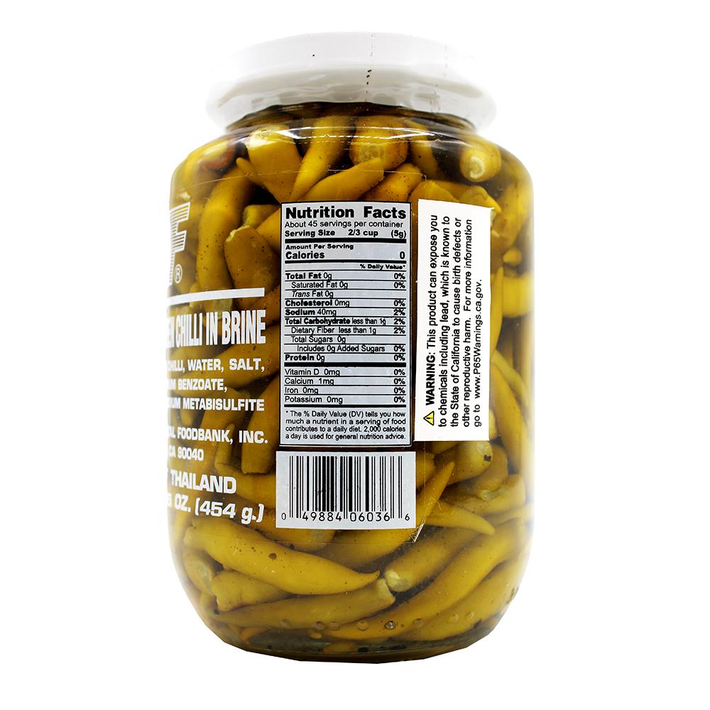 medium 1st of pickled whole green chilli 16 oz MK3FBqSKh