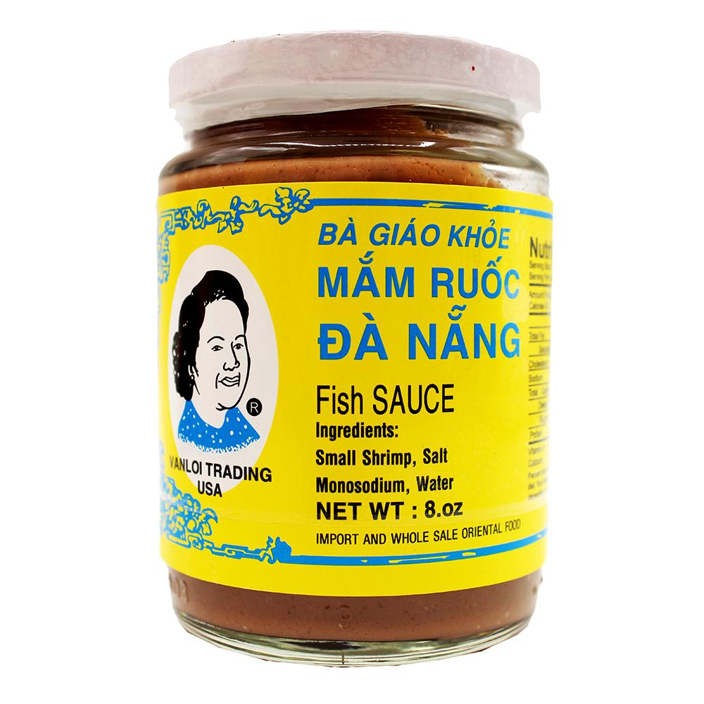 BA GIAO KHOE Fine Mam Ruoc Da Nang / Fish Sauce 8 Oz