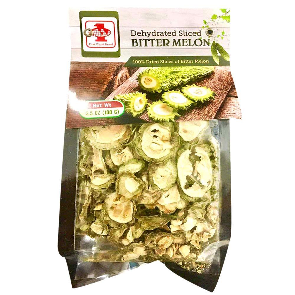 FIRST WORLD Dehydrated Sliced Bitter Melon 3.5 OZ