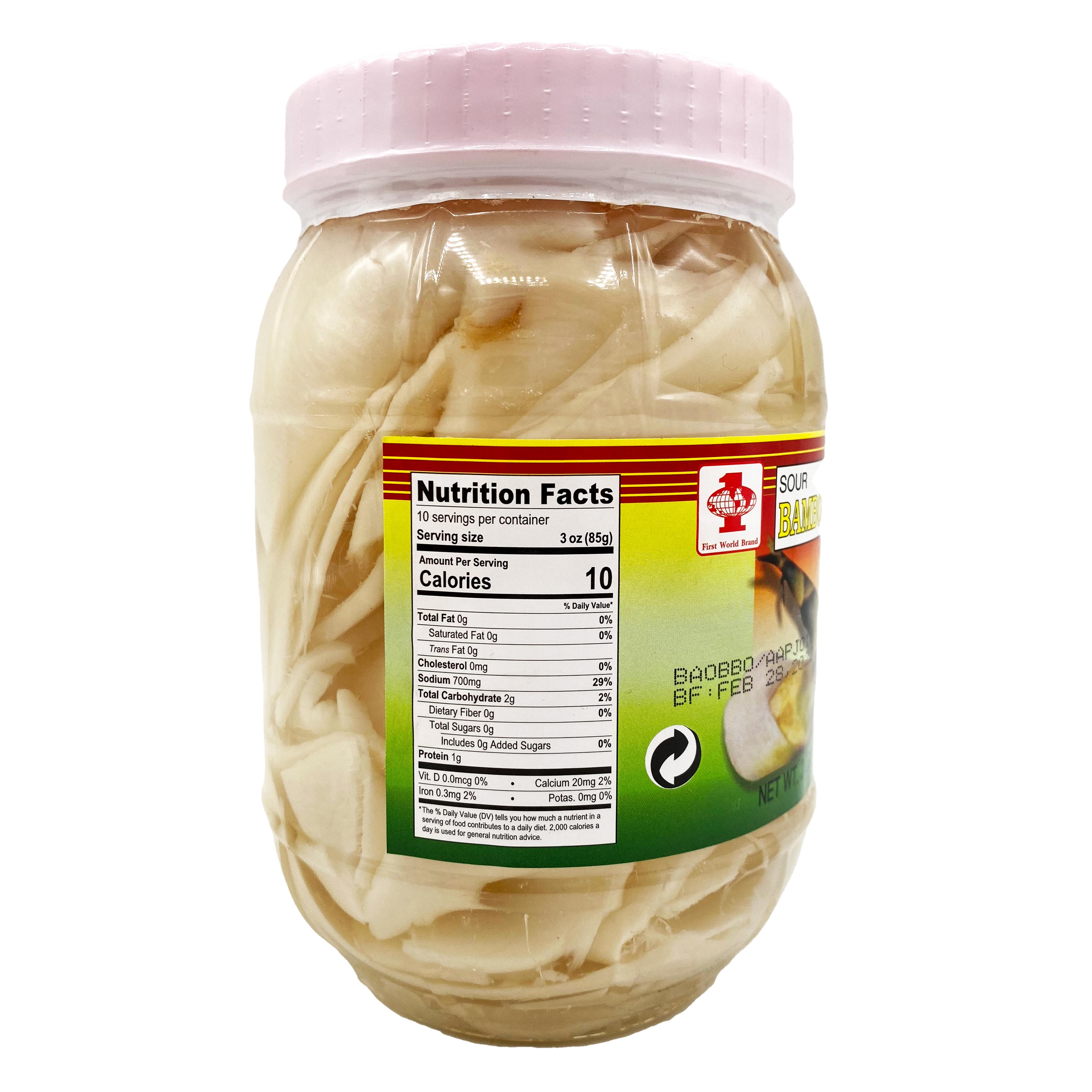 medium first world sour bamboo shoot mang chua 2