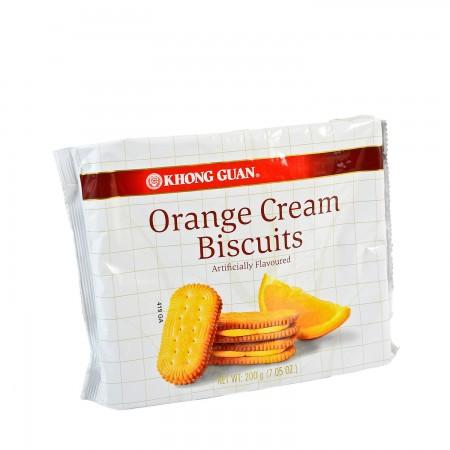 medium khong guan orange cream biscuits artificially flavoured 705 oz No6jyEnTQ