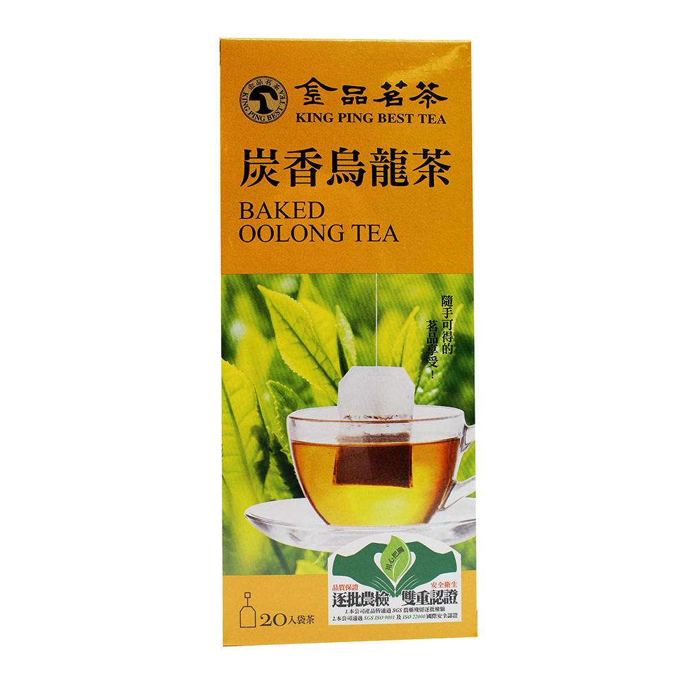 KING PING BEST TEA Baked Oolong Tea 20 Bags