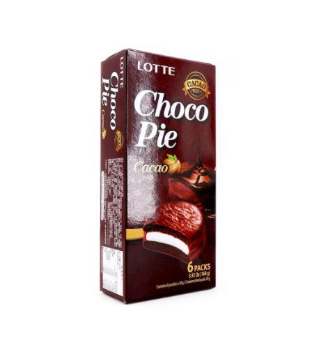 medium lotte choco pie cacao 6 packs 592 oz E8naSuL0 0