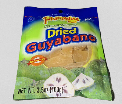 PHILIPPINE Dried Guyabano 3.5 OZ