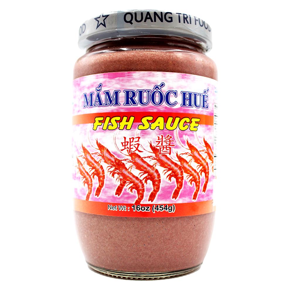 QUANG TRI Fish Sauce / Mam Ruoc Hue 16 OZ