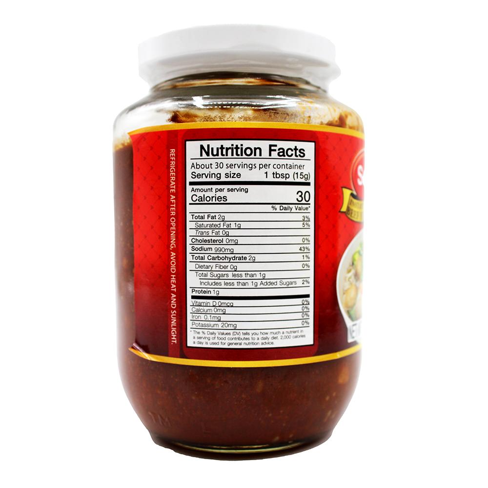 medium sunlee instant beef flavor paste 16