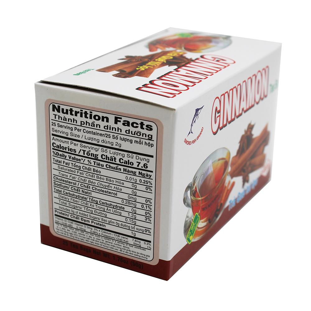 medium sword fish cinnamon tea tra que tui loc 25 bags tV6 EPgdy