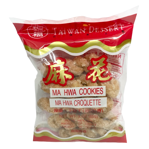 NICE CHOICE Ma Hwa Cookies With Sugar 3 Oz