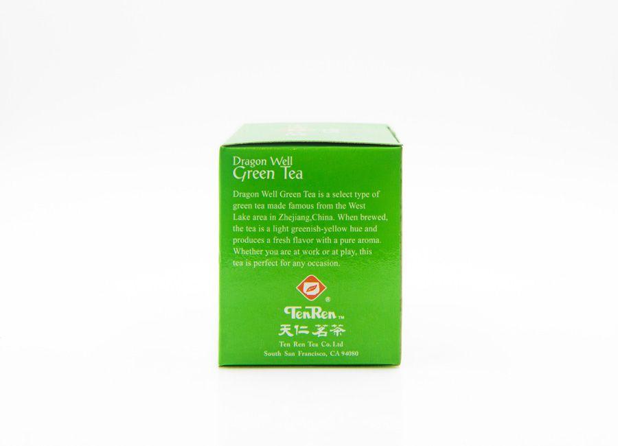 medium tenren dragon well green tea 14 oz 1RW rJ lJt
