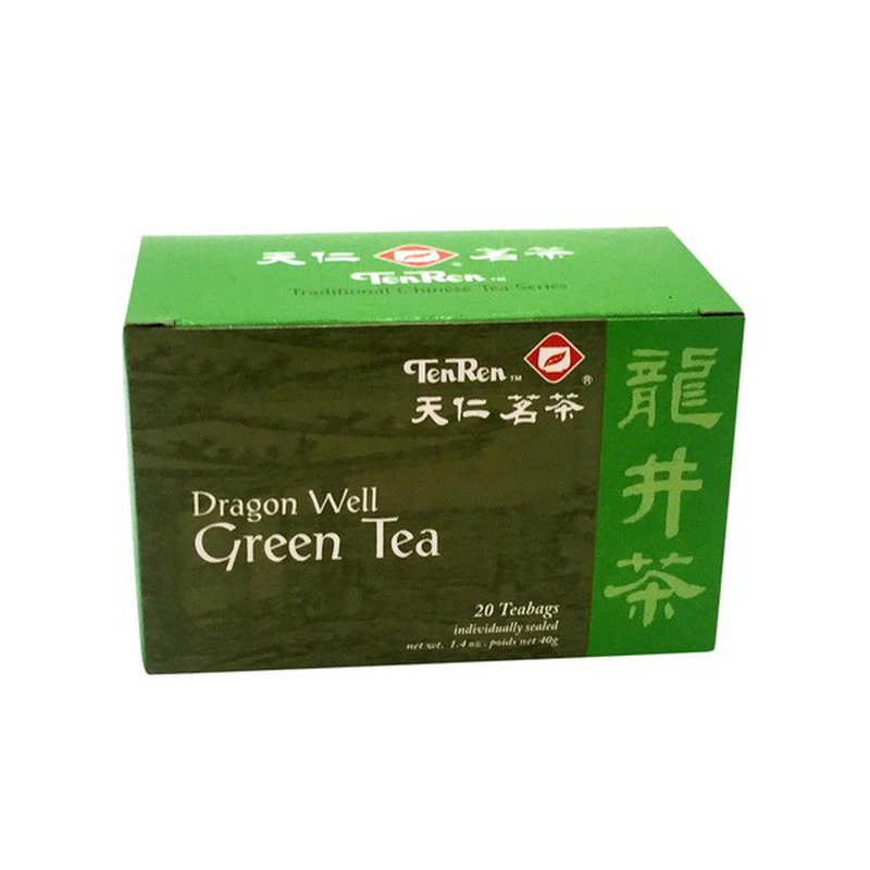 medium tenren dragon well green tea 14