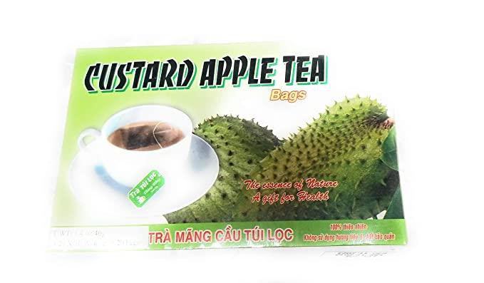THONG HONG Custard Apple Tea Bags / Tra Mang Cau 1.4 OZ