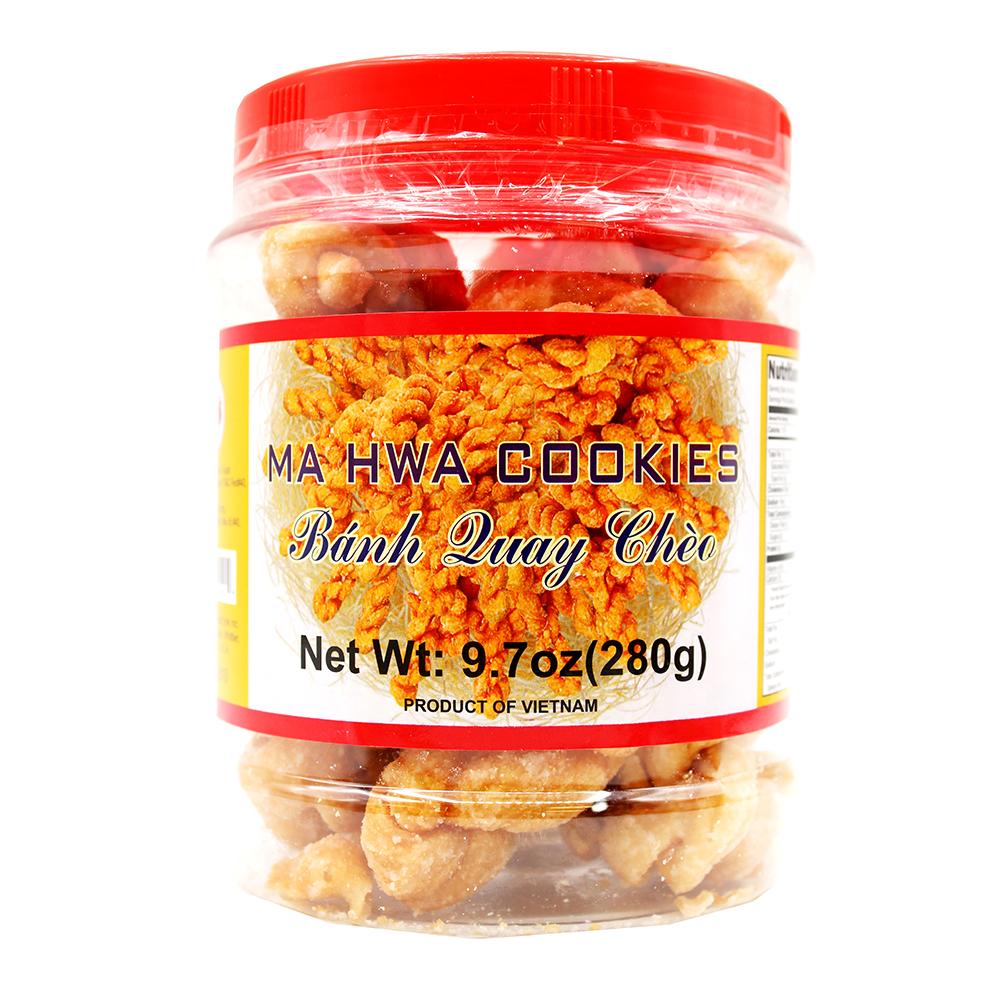 TWIN RABBIT Ma Hwa Cookies / Banh Quay Cheo 9.7 OZ