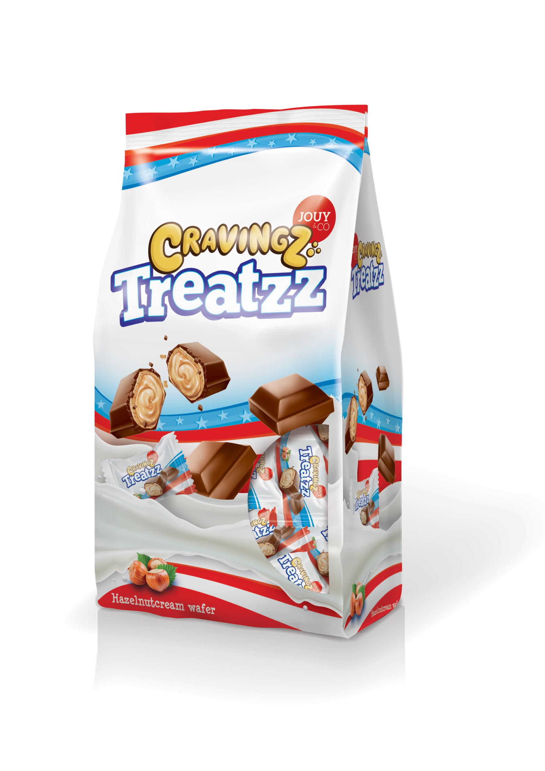 medium jouyco cravingz treatzz hazelnutcream wafer 185 gr w292X cKw