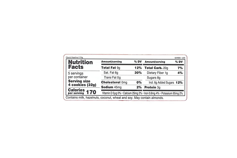 LOACKER Hazelnut crispy Wafers With Hazelnut Cream Filling 6.17 OZ