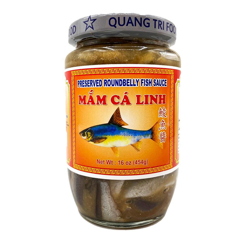 QUANG TRI Amazing Preserved Roundbelly Fish Sauce / Mam Ca Linh 16 Oz
