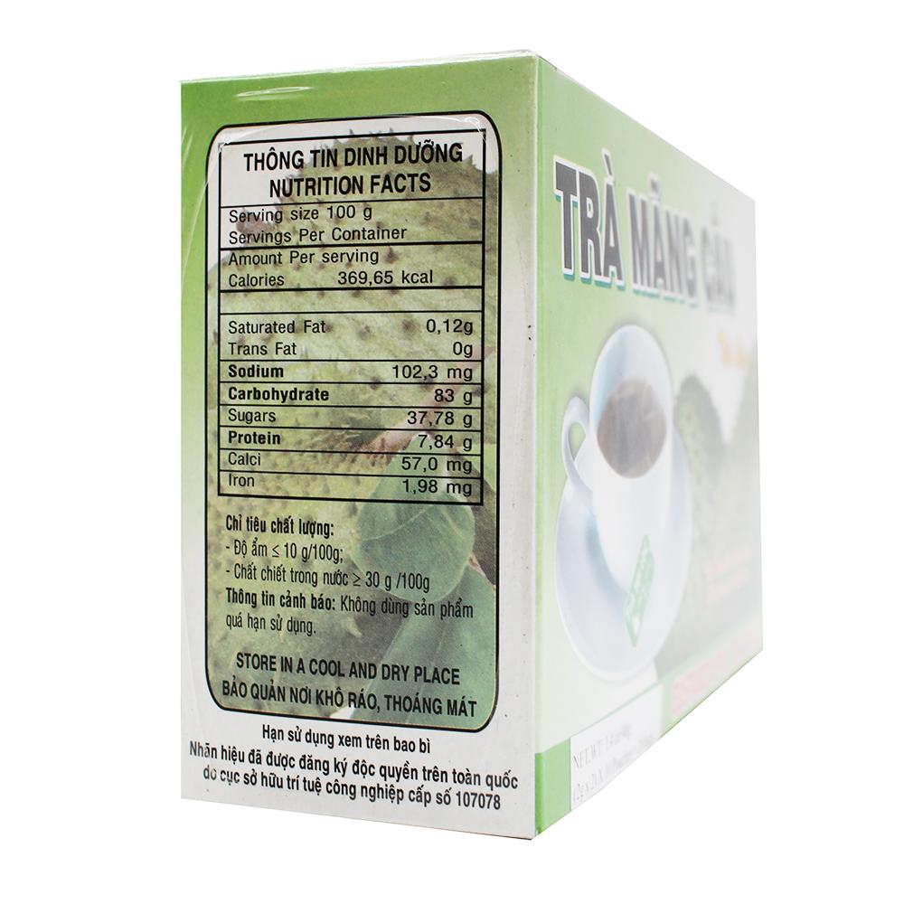 medium thong hong custard apple tea bags tra mang cau 14
