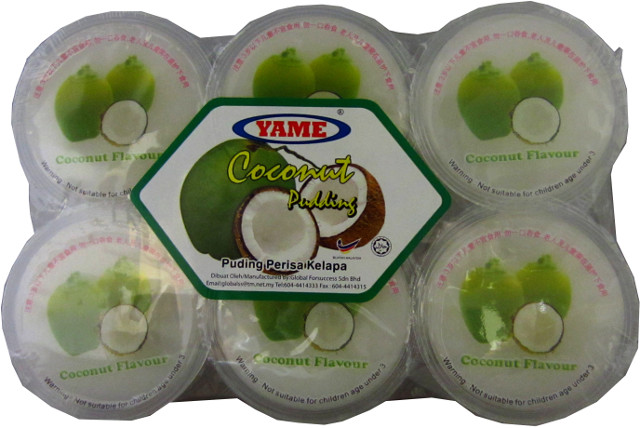 YAME Coconut Pudding 6 Cups
