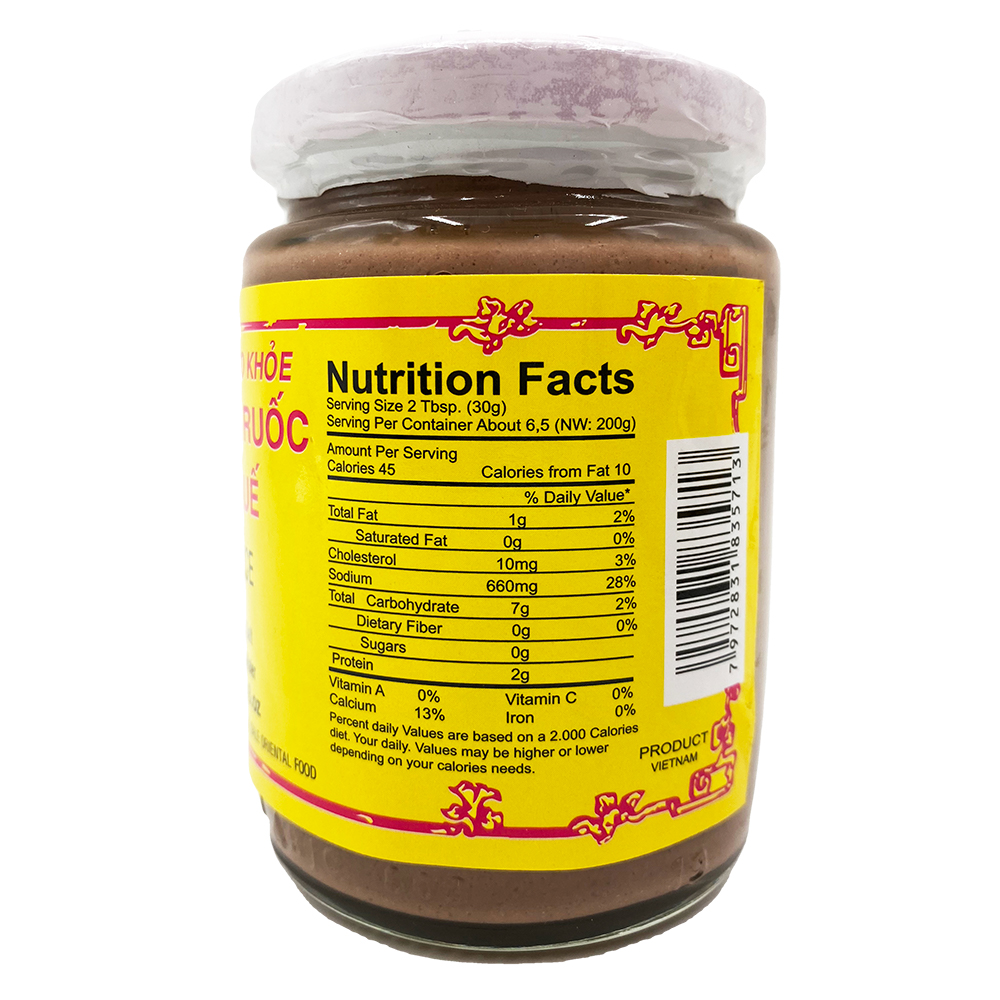 BA GIAO KHOE Fish Sauce / Mam Ruoc Hue 8 OZ