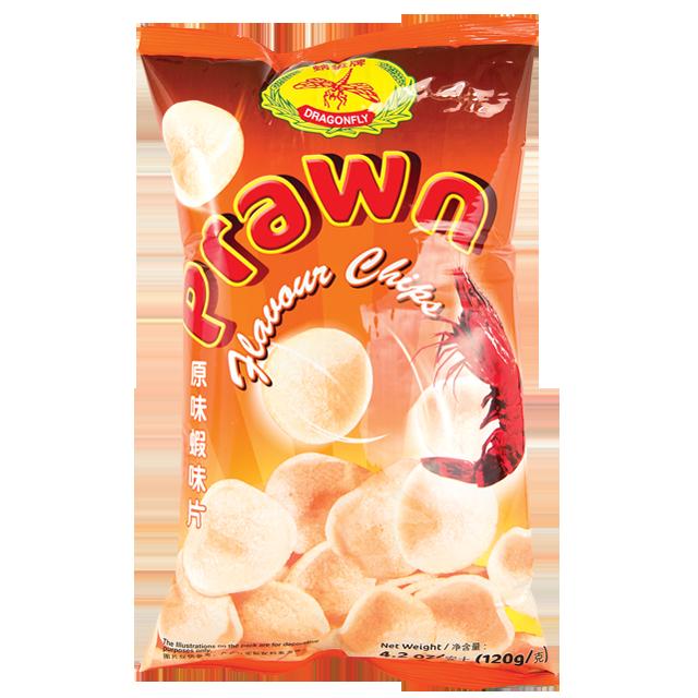 DRANGONFLY Prawn Flavour Chips 4.2 OZ