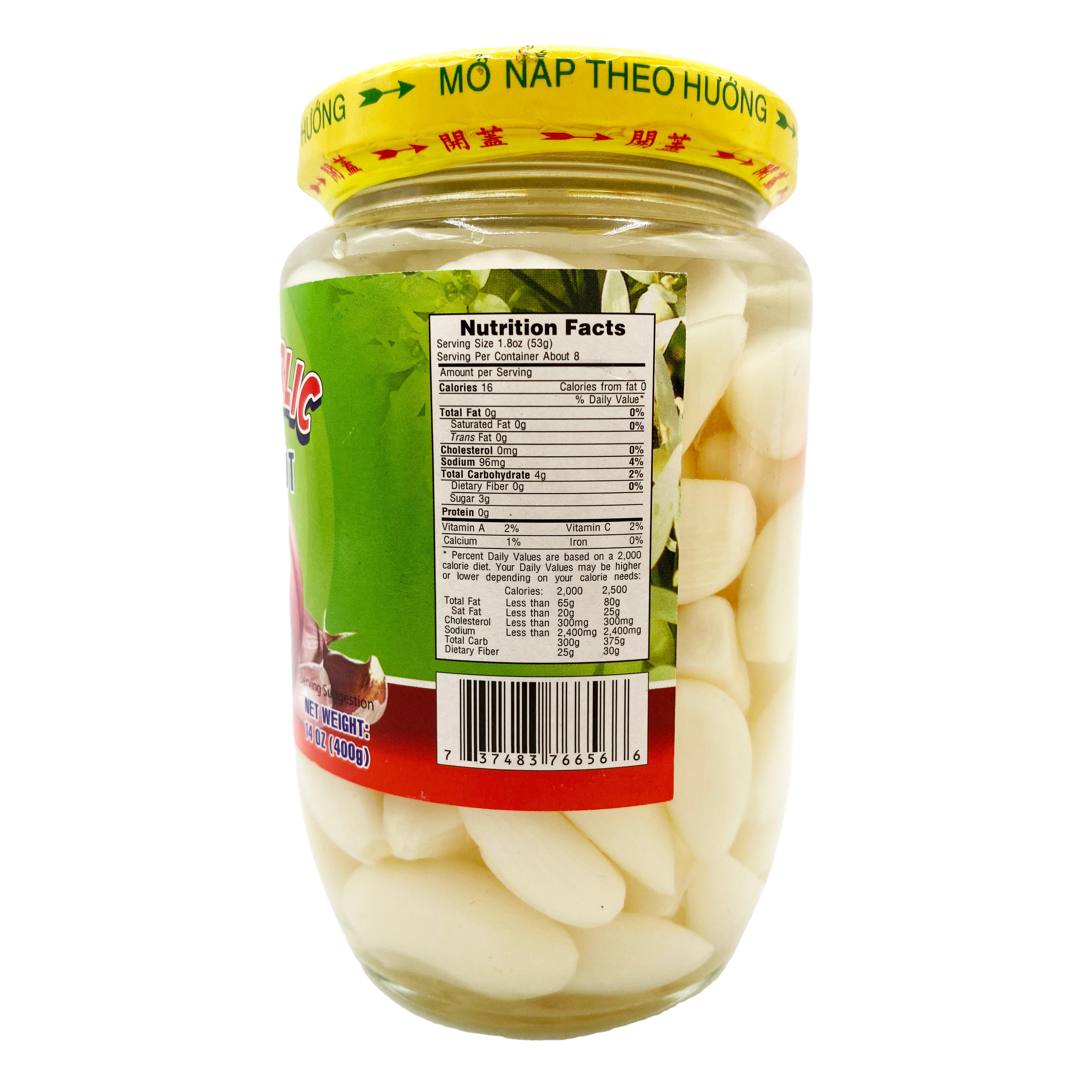 medium first world pickled garlic 14