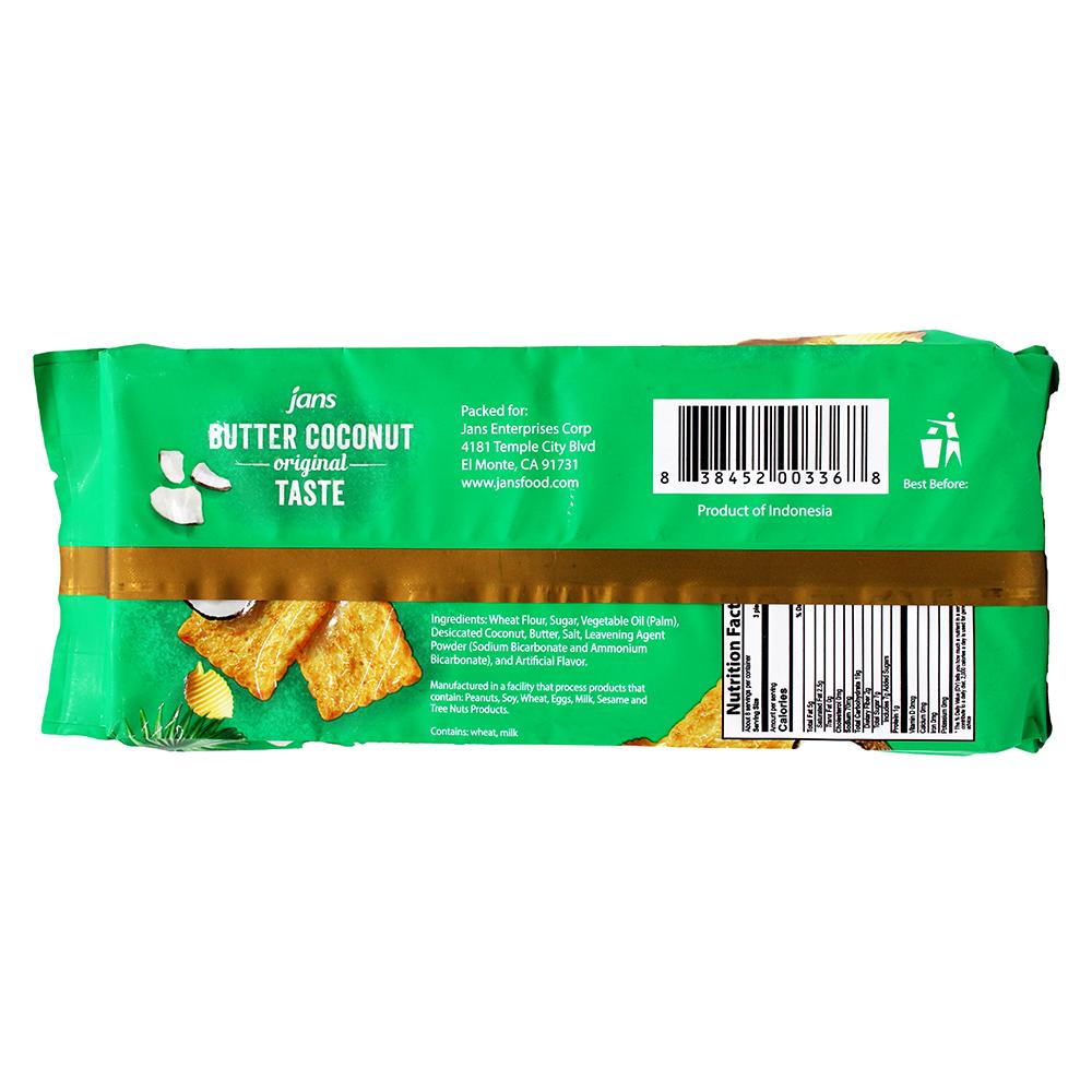 medium jans butter coconut cracker 67 oz%09 VPG 1 LAs