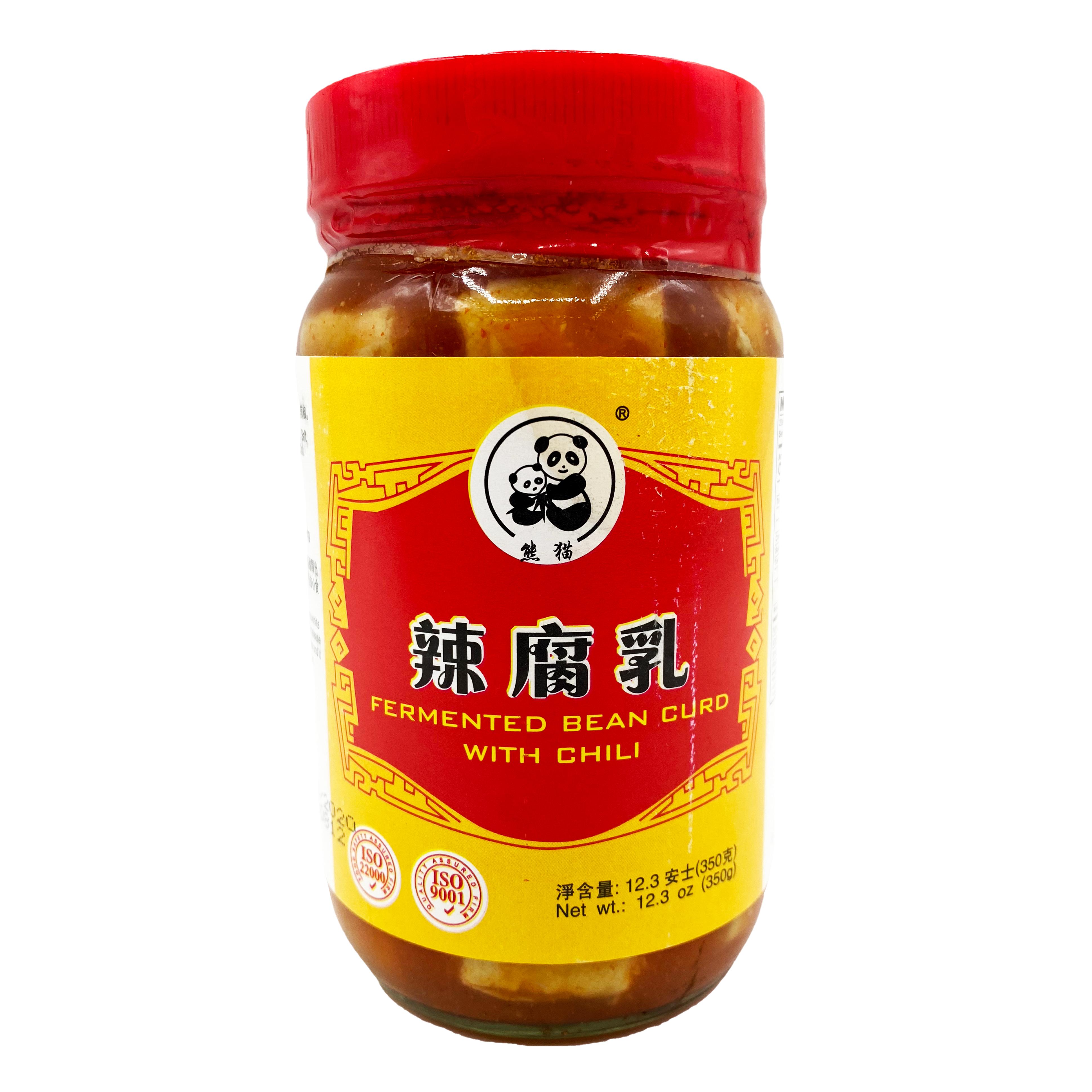 PANDA Fermented Bean Curd With Chilli 12.3 OZ