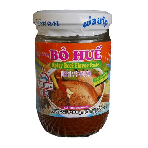POR KWAN Spicy Beef Paste / Gia Vi Nau Bo Hue 7 Oz