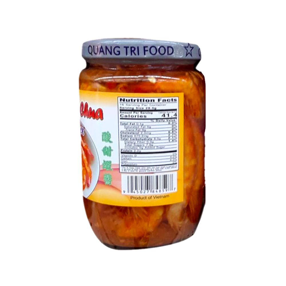 QUANG TRI FOOD Fish Sauce / Mam Tom Chua 16 OZ