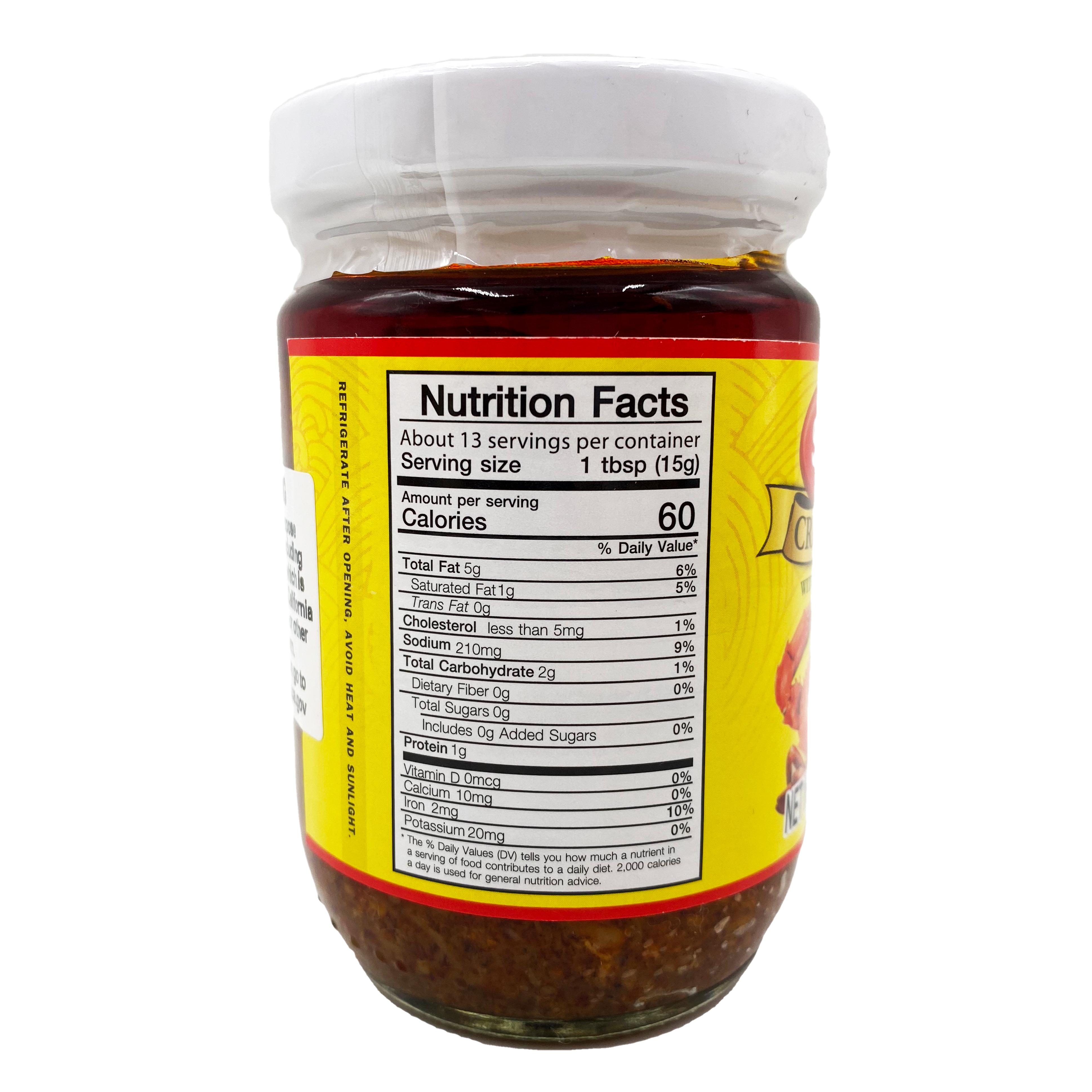 medium sunlee crab paste with soya bean oil 7 oz FuqtZUDSfR