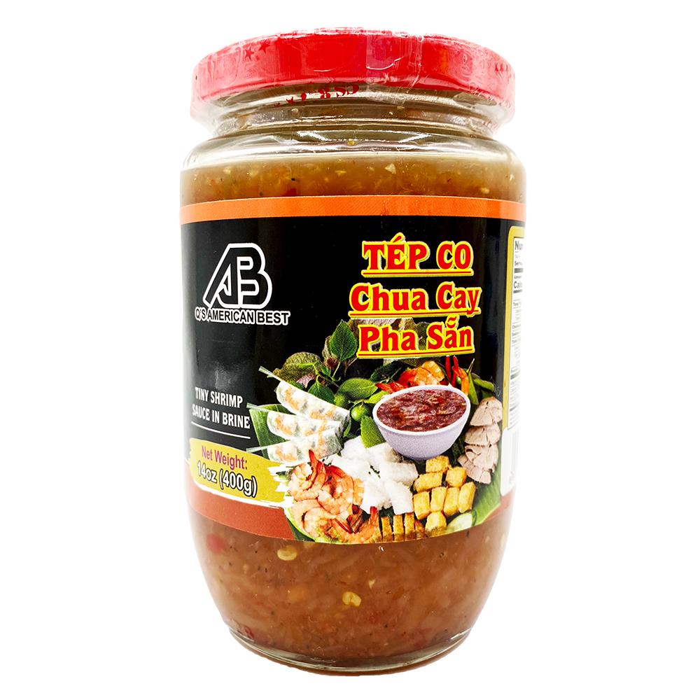 medium ab qs american best tiny shrimp sauce in brine tep co chua cay pha san 14