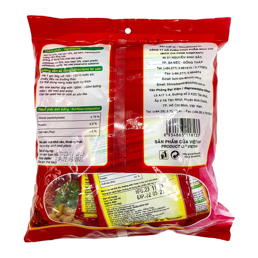 medium bich chi unpolished rice with lotus seed 1057 oz bot gai lut hat sen  uyiYu9yeF