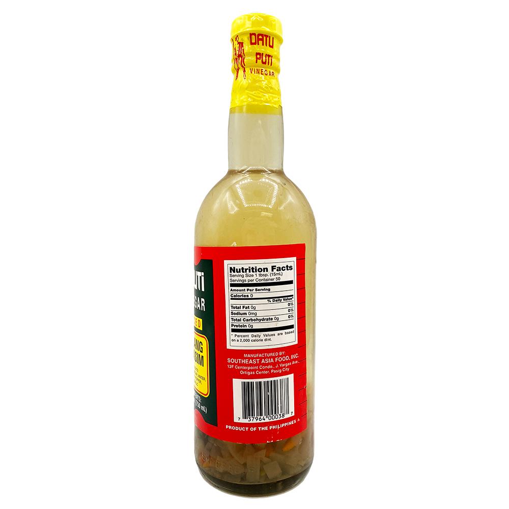 DATU PUTI White Vinegar Spiced 25.36 FL OZ