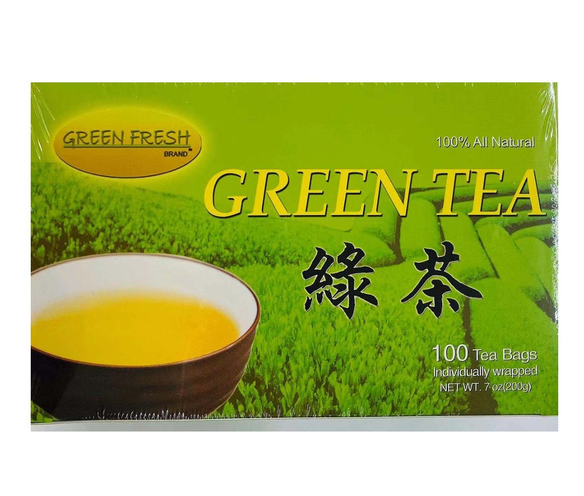 GREEN FRESH Green Tea 7 OZ