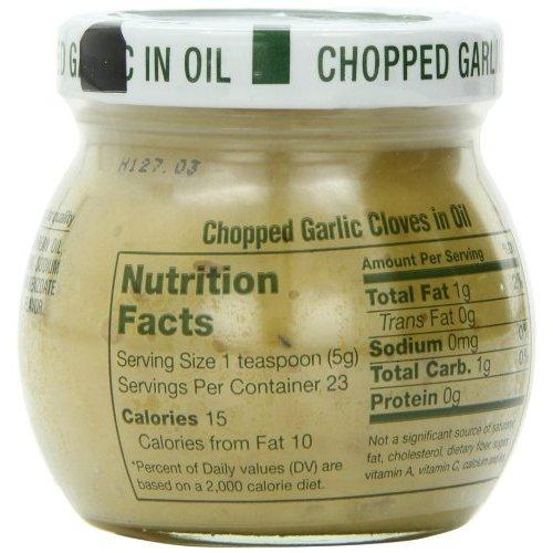 INGLEHOFFER Chopped Garlic Cloves in Oil 4 OZ