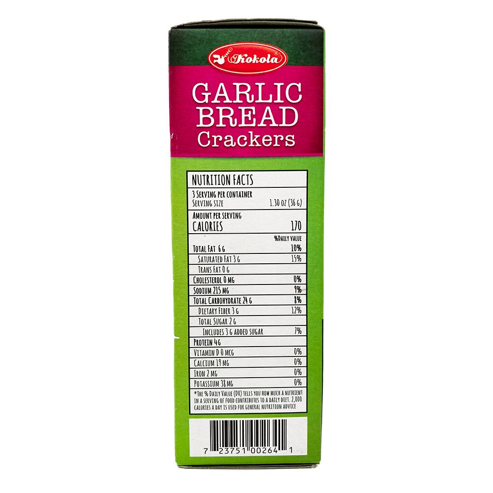 medium kokola garlic bread crackers 381 oz c4FGdVvwl