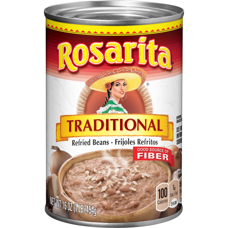 medium rosarita traditional refried beans 16 oz CSYeJ0jFd