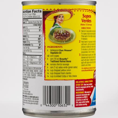ROSARITA Traditional Refried Beans 16 OZ