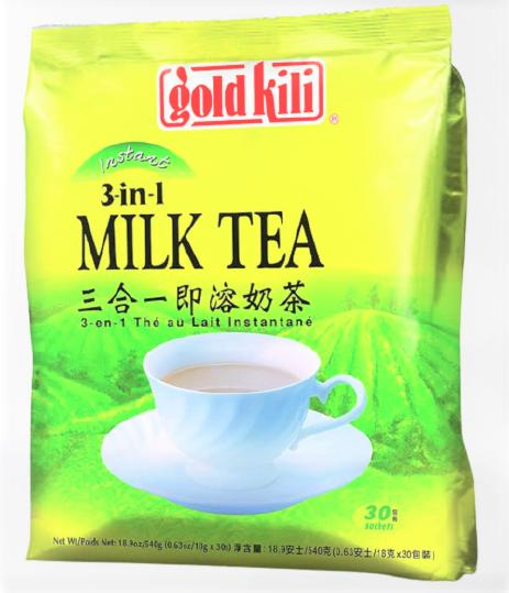 medium gold kili instant milk tea 3 in 1 milk tea 189 oz Ewk6SZiOPA