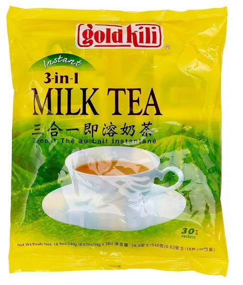 medium gold kili instant milk tea 3 in 1 milk tea 189 oz I68bIbU 2