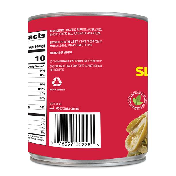 medium la costena pickled jalapeno peppers sliced 28 oz cdhQFsHFfz