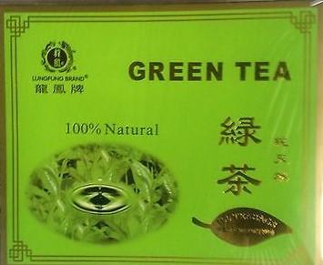 LUNG FUNG Green Tea Bags 7 Oz