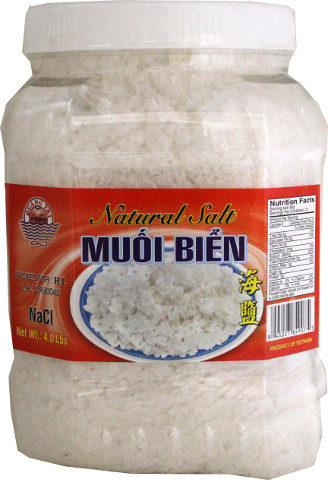 QUANG TRI Natural Salt / Muoi Bien 4 LBS