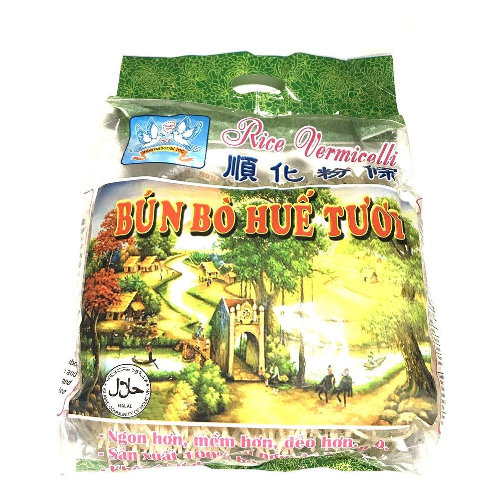 medium double dove rice vermicelli bun bo hue tuoi 32 oz 6fRP3T8Pk