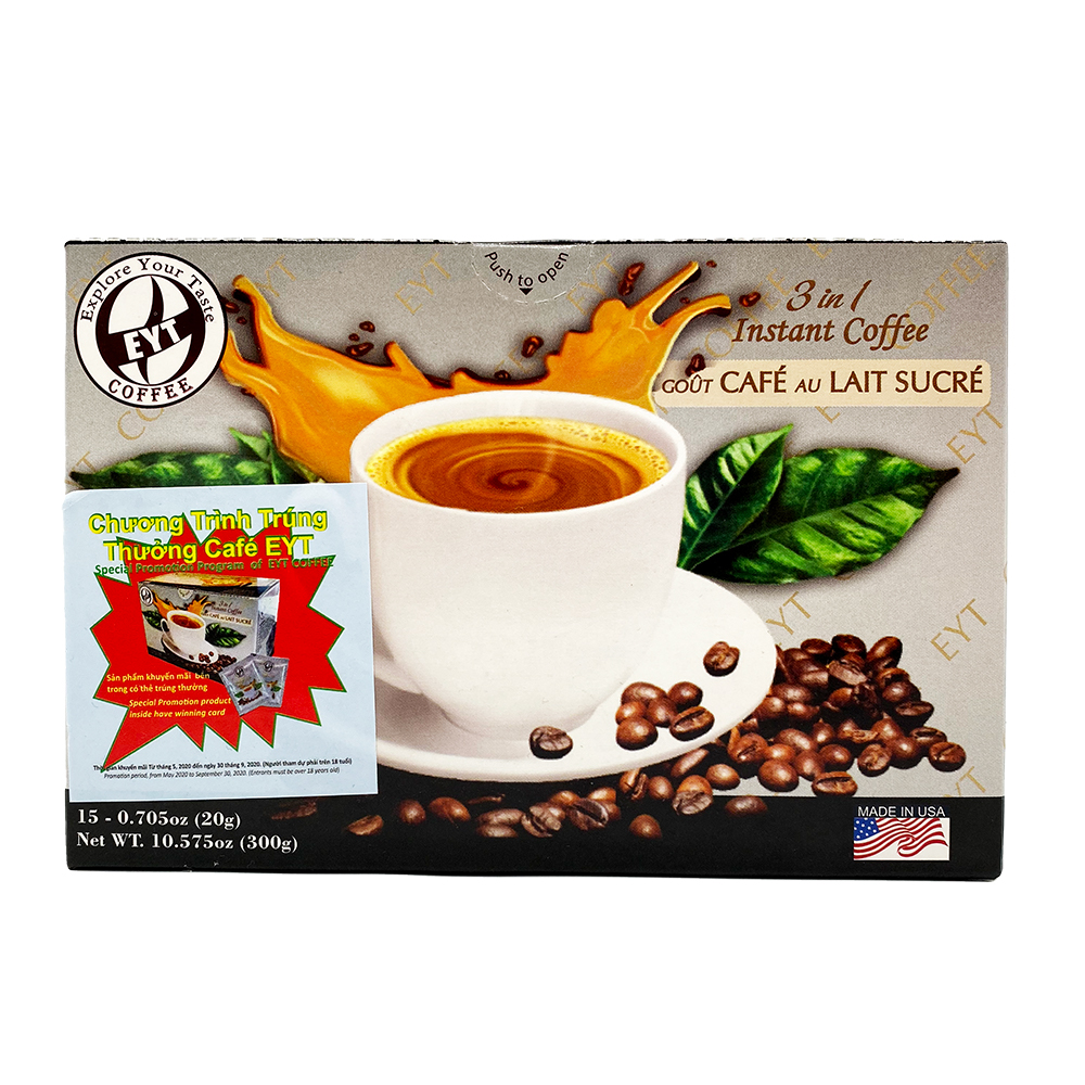 medium eyt 3 in 1 instant coffee 10575