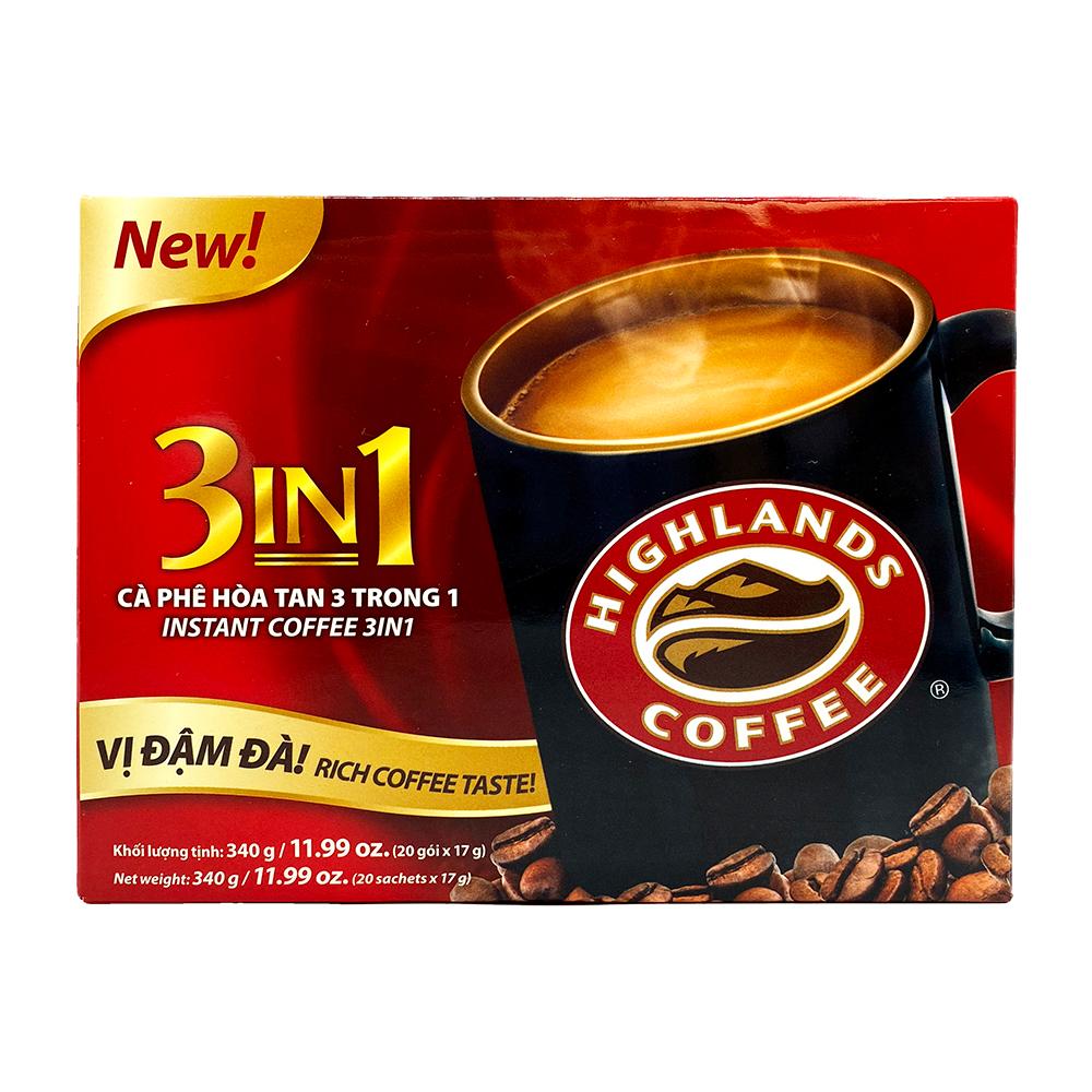 medium highlands instant coffee 3 in 1 ca phe hoa tan 3 trong 1 1199 oz jnfdpAauo