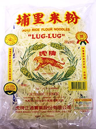 TIGER Rice Flour Noodles with No-GMO 600 GRS